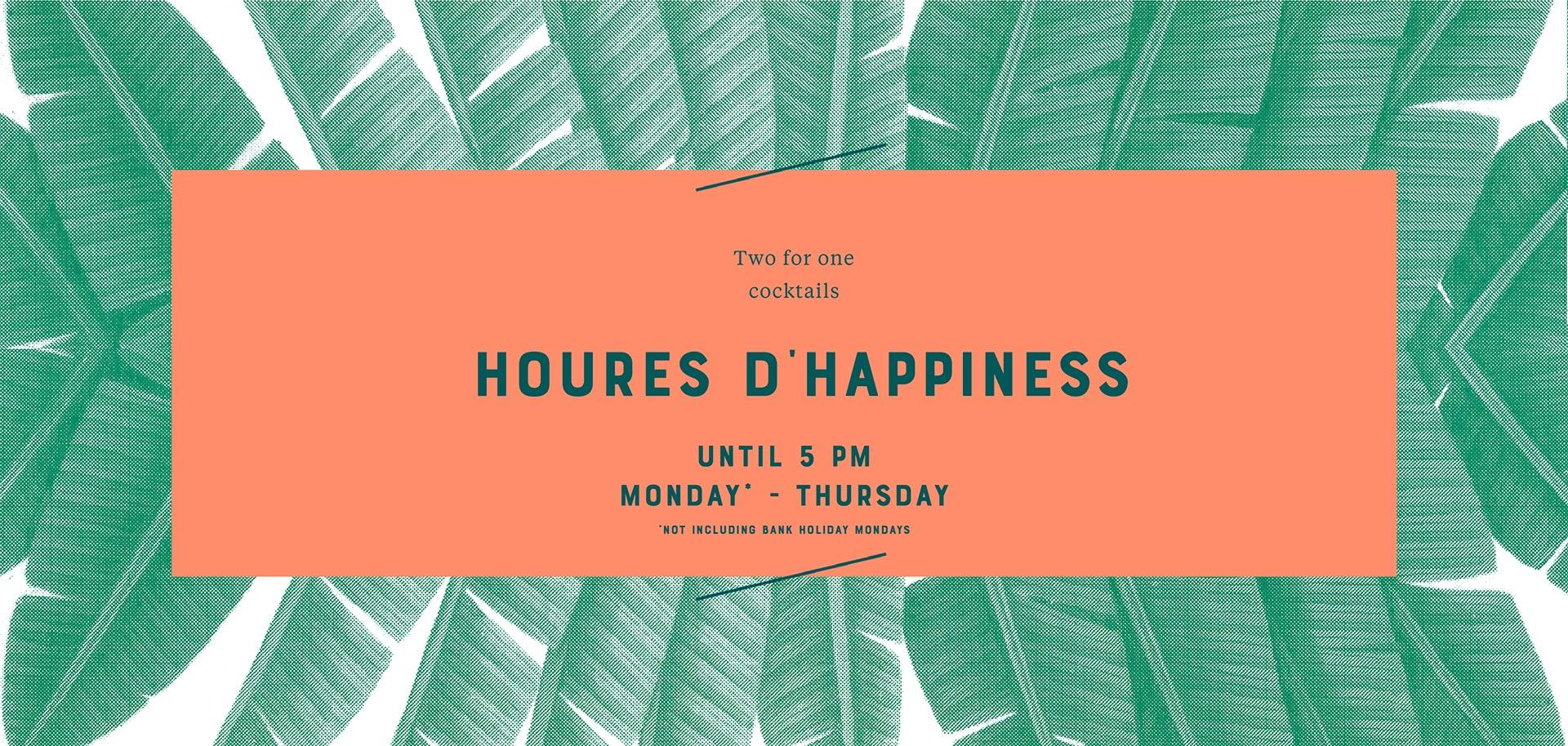 Happy Hour - Bar Elba - Waterloo